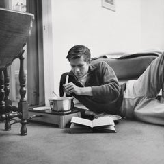 Anthony Perkins: Star of Psycho Cooking Fine Art Print