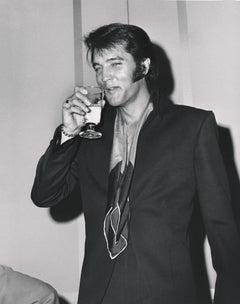 Elvis Presley: Drink Like a King Fine Art Print