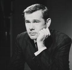 "Johnny Carson ""The Tonight Show"" Host Fine Art Print"