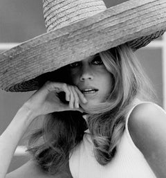 Jane Fonda in Sombrero Fine Art Print