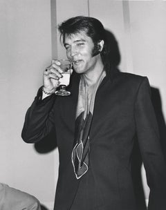 Elvis Presley: Drink Like a King Fine Art Print