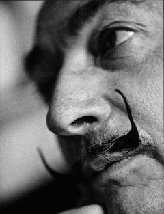 Salvador Dali Close-Up Fine Art Print