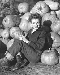 Norma Jeane Thanksgiving Oversized Vintage Print