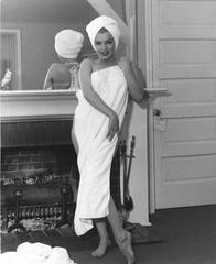 Marilyn Monroe Naked with Towel Oversized Vintage Print