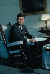 President Kennedy in the White House Fine Art Print