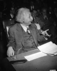 Einstein in Washington Fine Art Print