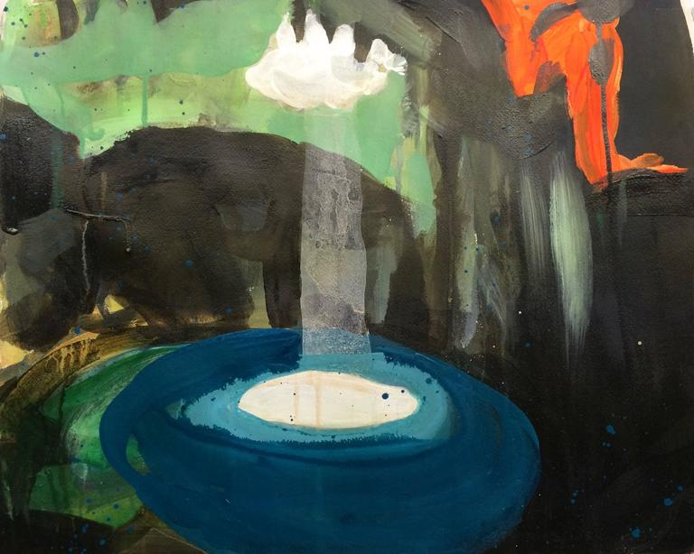 Melora Griffis Landscape Painting - pool of light