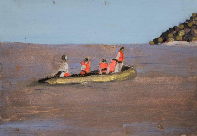Melora Griffis Landscape Painting - rettungsboot /2