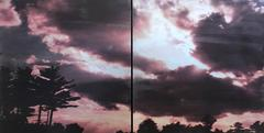 Sky on Fire (diptych)