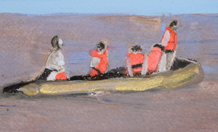 rettungsboot /2 - Painting by Melora Griffis