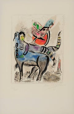 Marc Chagall, The Blue Cow