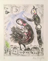 La Femme Oiseau from Songes