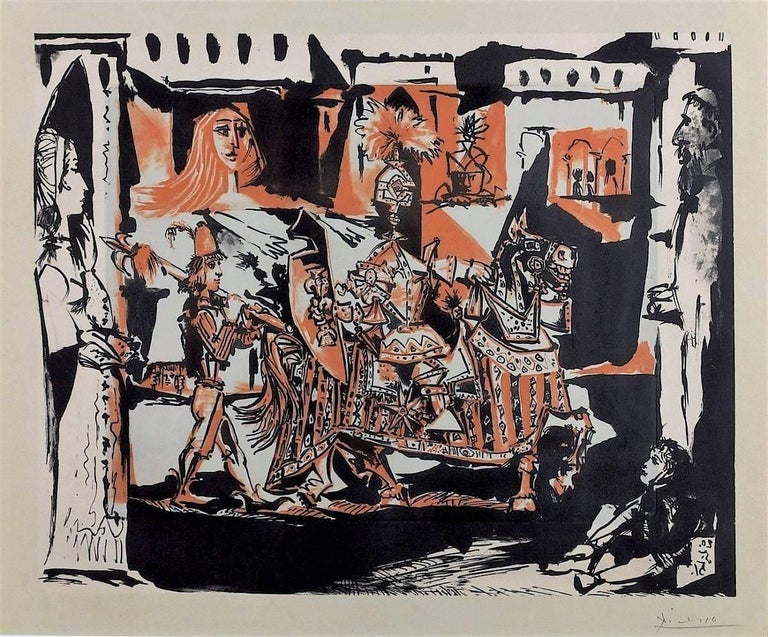 Pablo Picasso, The Departure - Print by Pablo Picasso