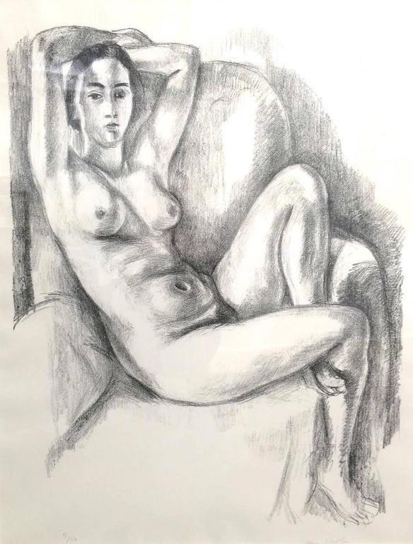 Henri Matisse - Nu Au Coussin Bleu 1