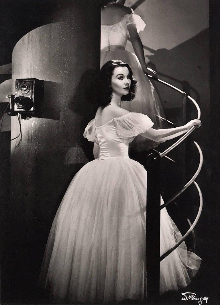 Laszlo Willinger Black and White Photograph - Vivien Leigh