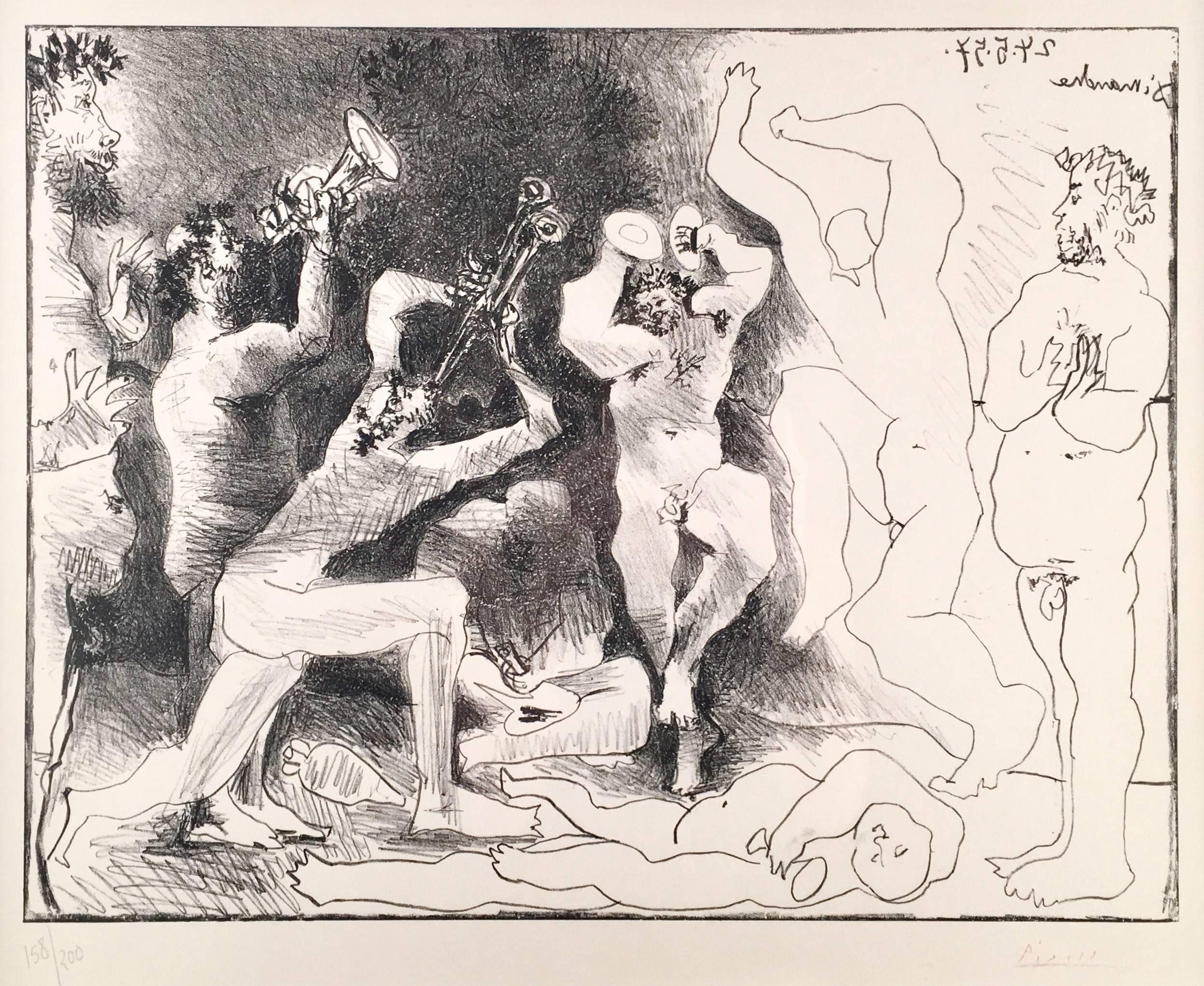 Pablo Picasso, The Fauns Dance