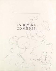 La Divine Comedie Title Page Drawing