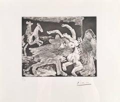 Pablo Picasso, La célestine from 347 Series, etching