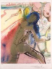 The Death of Clorinda from Marquis de Sade
