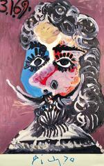 Picasso - Marlborough Galleria d'Arte, Rom (exhibition poster)