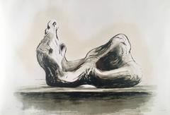 Henry Moore - Stone Reclining Figure II