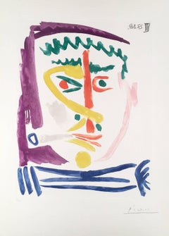 Pablo Picasso - Fumeur III