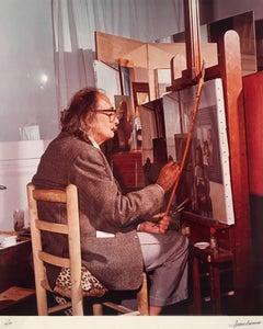 Dali Painting a Woman