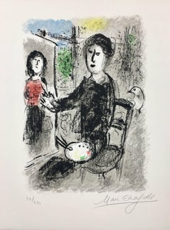 Frontispiece from Les Ateliers de Chagall