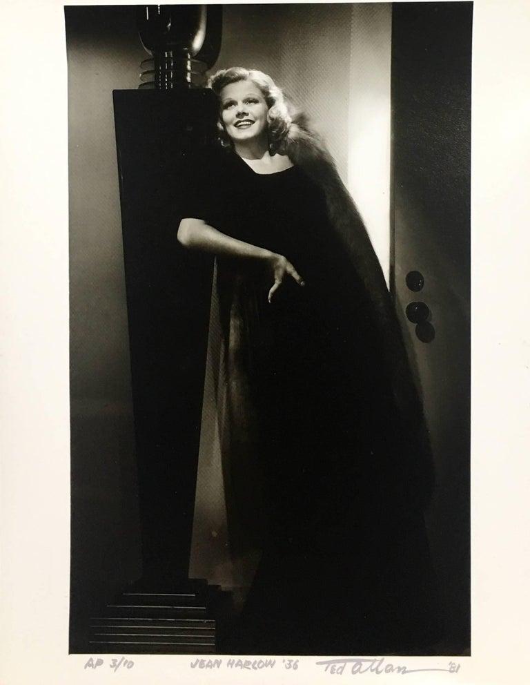 Ted Allan Figurative Photograph - Jean Harlow
