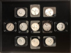 Complete Set of 1984 Olympic Medallions