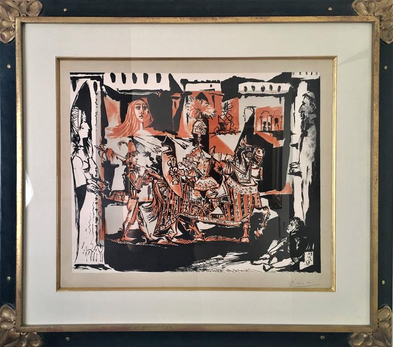 Pablo Picasso, The Departure - Modern Print by Pablo Picasso