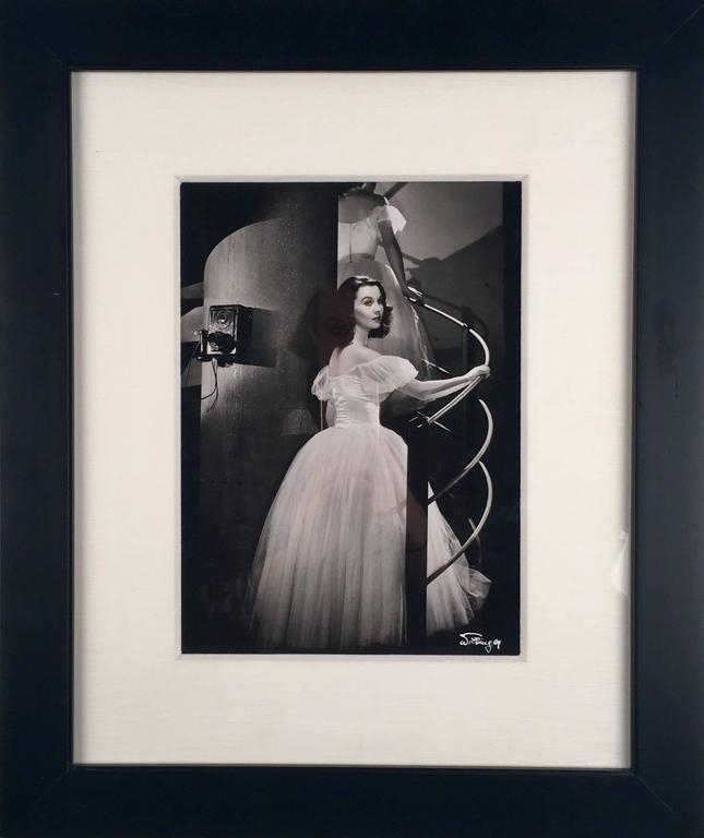 Vivien Leigh - Photograph by Laszlo Willinger