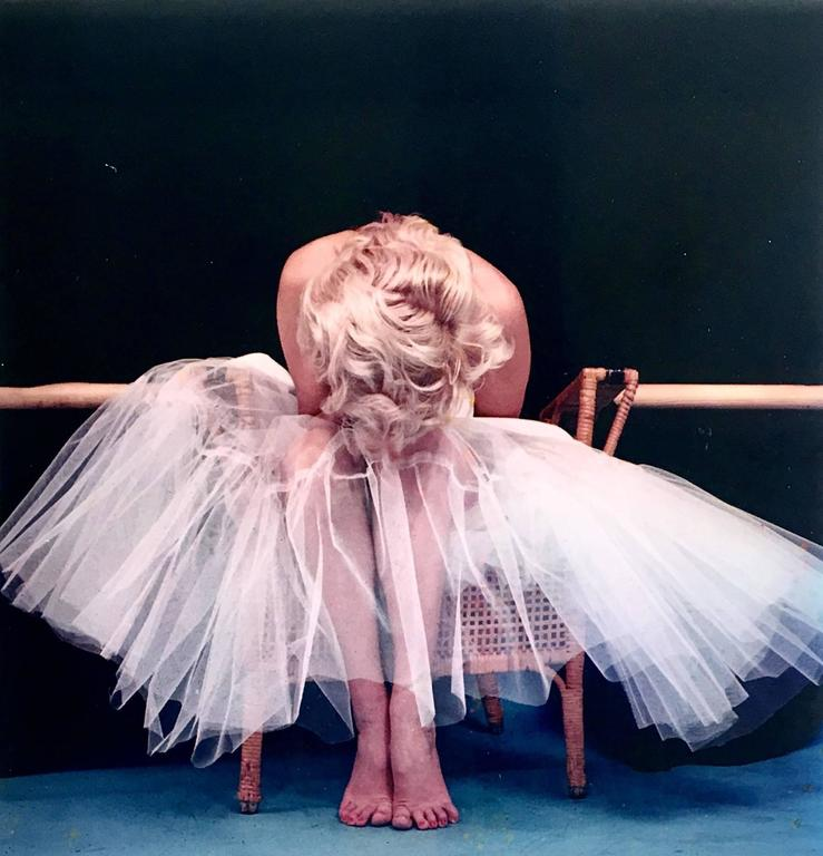 Ballet Dyptich - Gray Portrait Photograph by Milton Greene