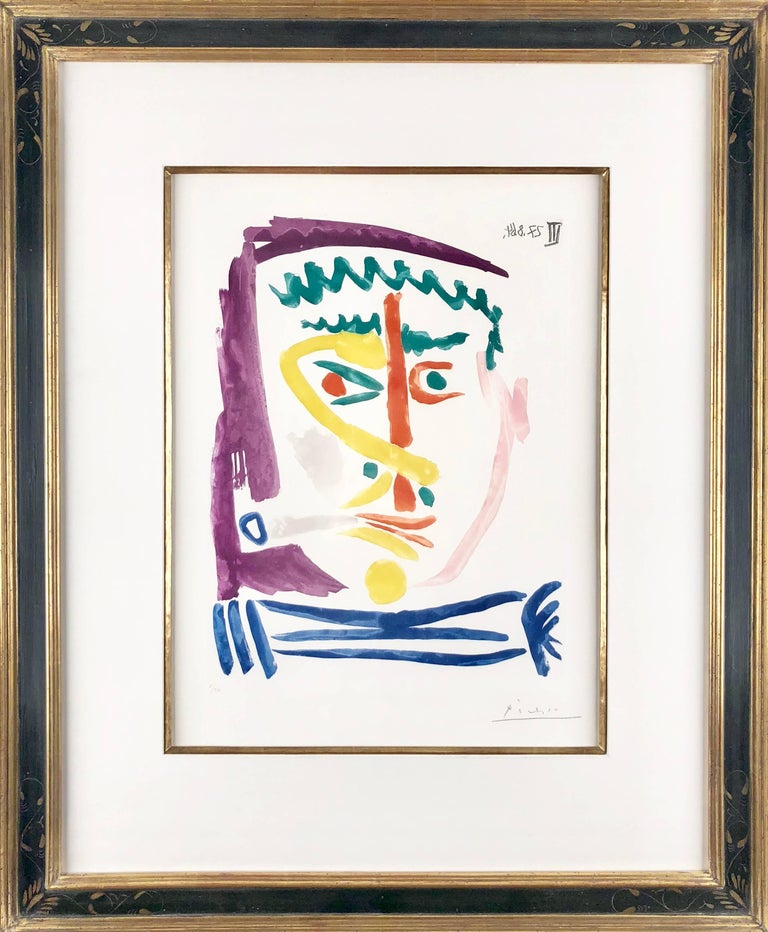 Fumeur III - Print by Pablo Picasso