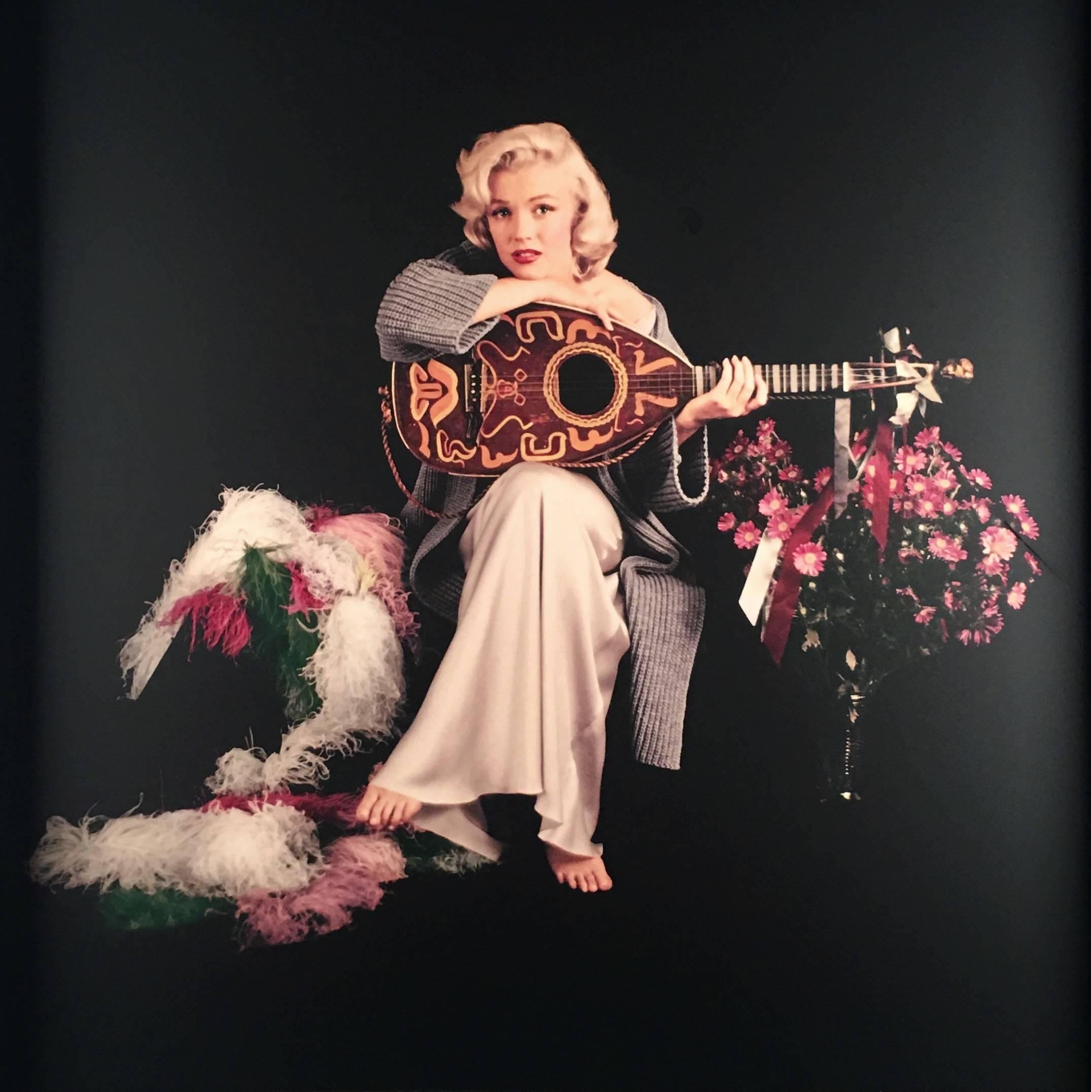 Marilyn with Lute