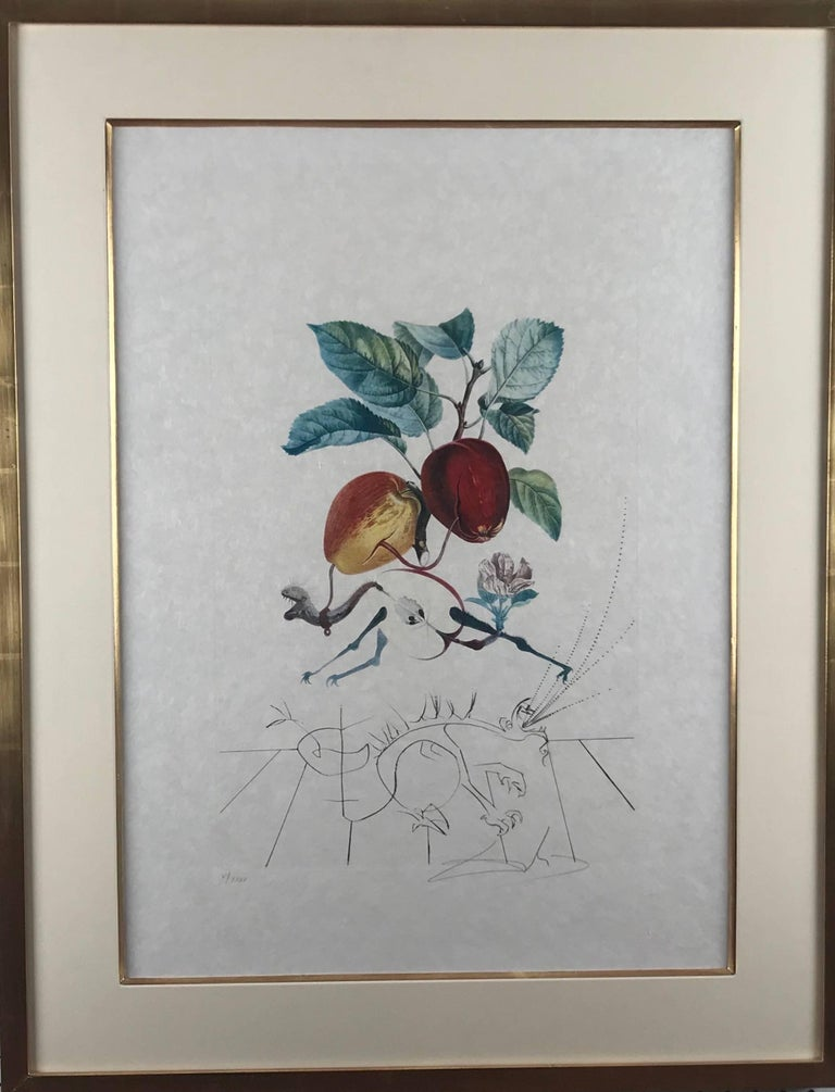 Pomme Dragon (Eve's Apple) - Contemporary Art by Salvador Dalí