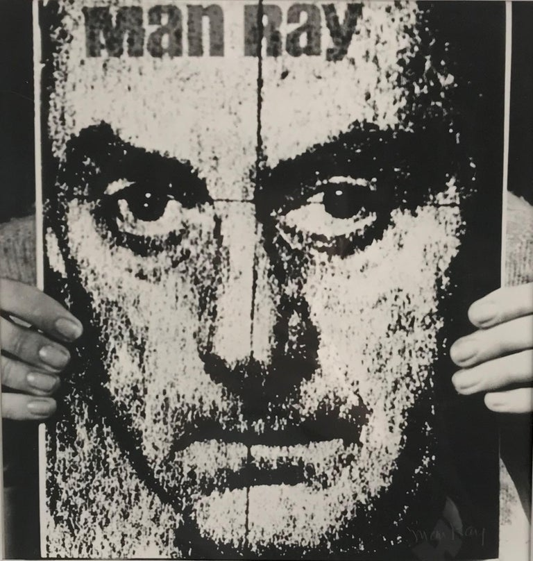 Man Ray Portrait Print - Self Portrait