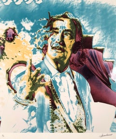 Dali with Flowers