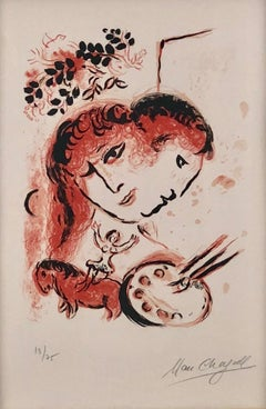 """Cover from """"Chagall Lithographs"""""""