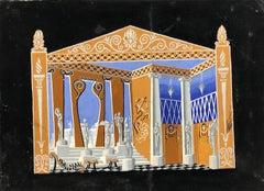 Phi-Phi, décor fait pour les Bouffes-Parisiens