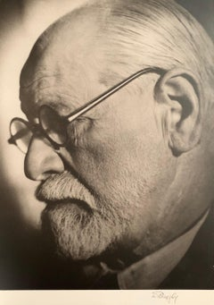 Laszlo Willinger, Sigmund Freud, photograph