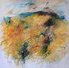 Gelb Gemälde