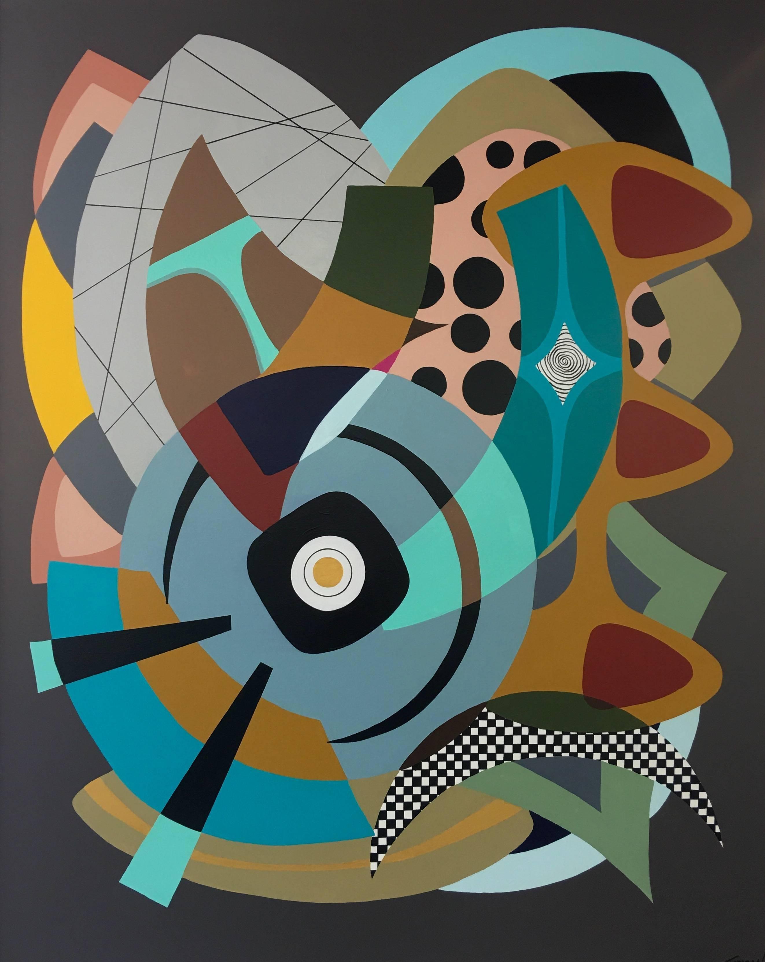 Painting on Canvas Titled: Wonderland