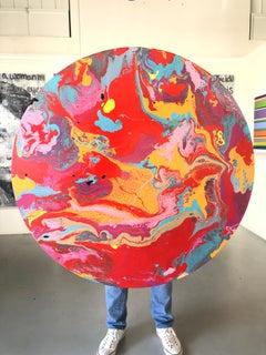 Oil on Panel Titled: Jupiters Cousin