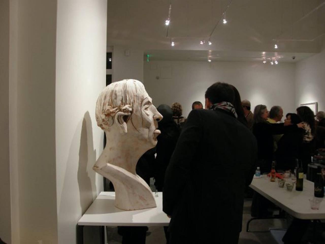 Large Terracotta Sculpture Titled: Albert For Sale 3