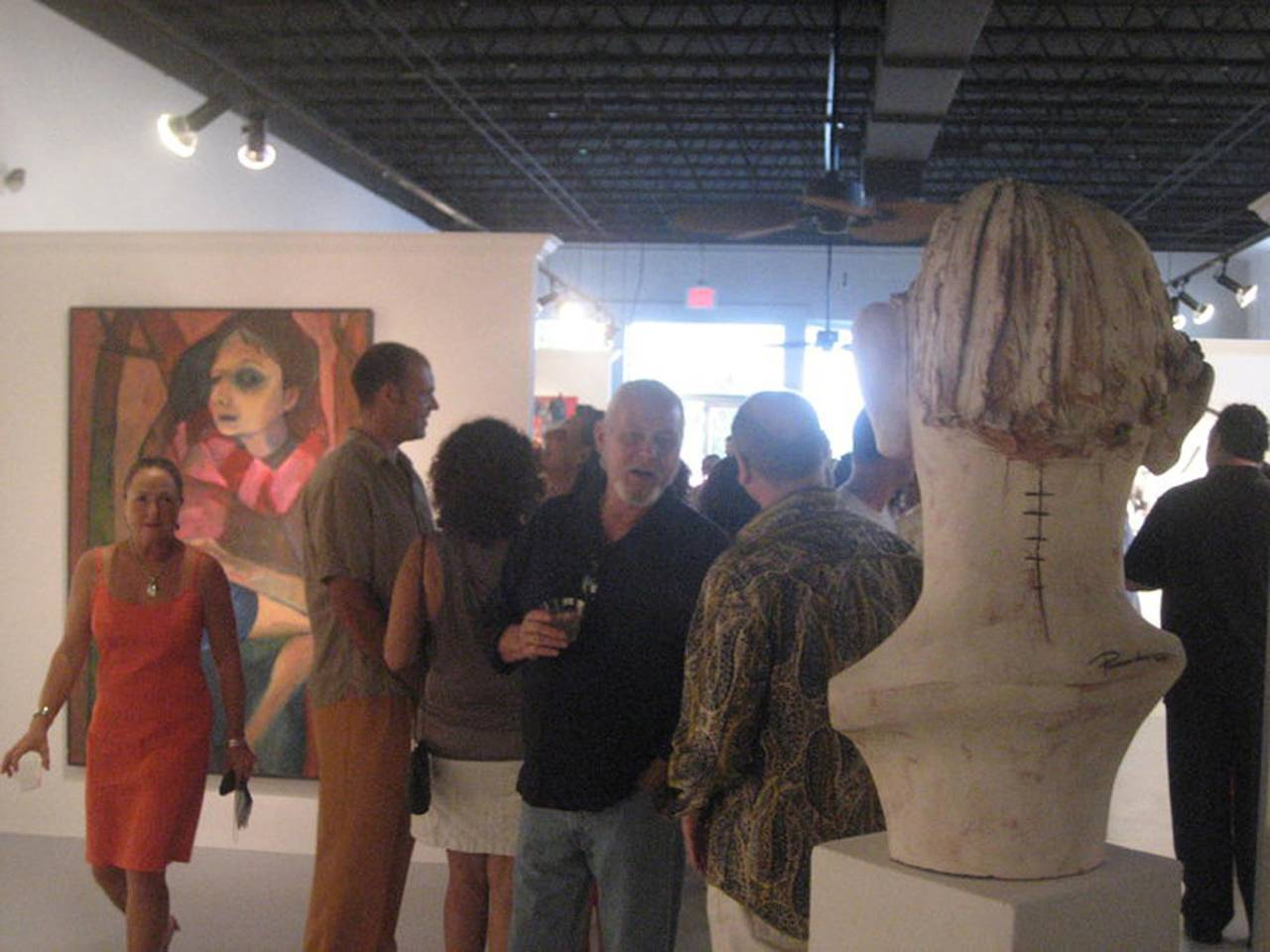 Large Terracotta Sculpture Titled: Albert For Sale 5
