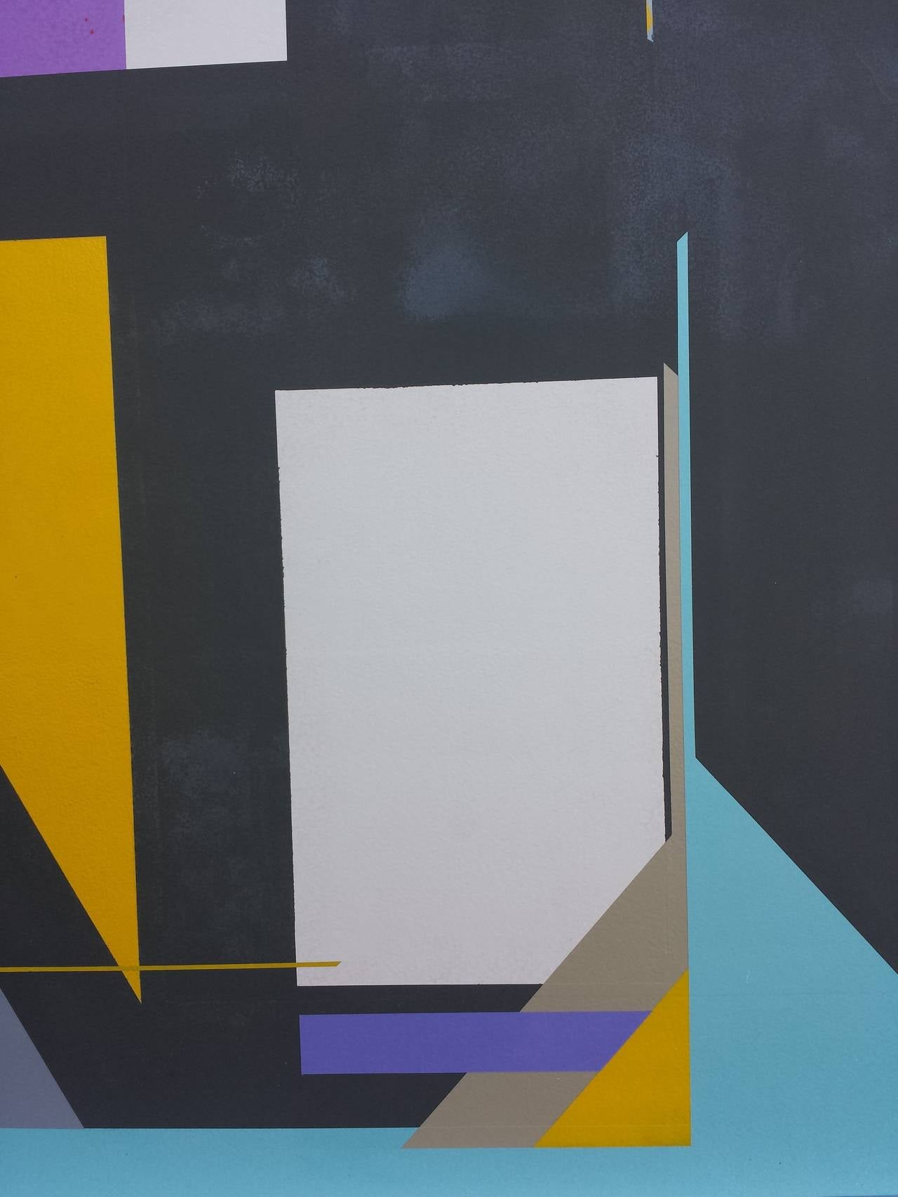 Acrylic on Panel Titled: Contradiction 5