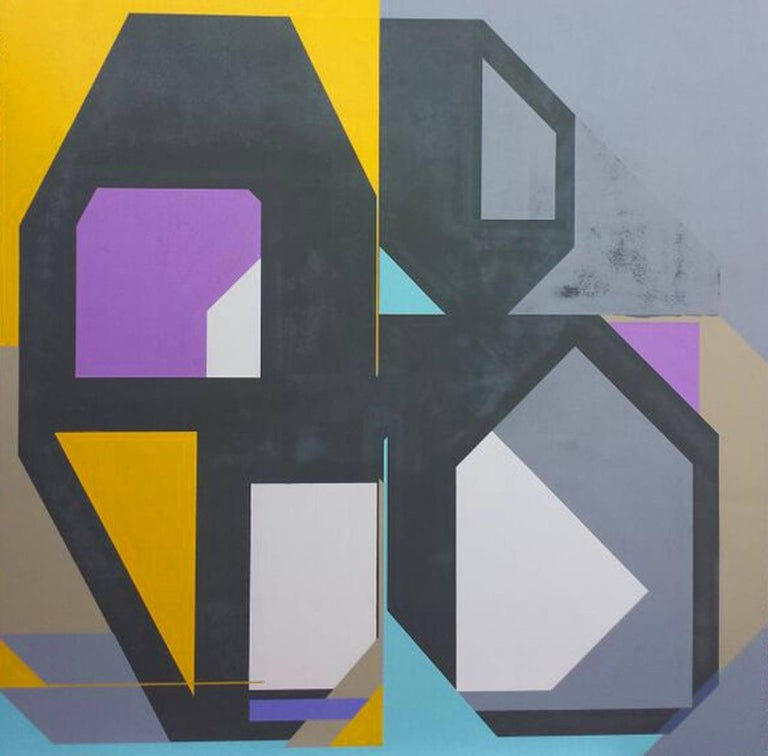 Acrylic on Panel Titled: Contradiction 1