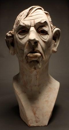 Large Terracotta Sculpture Titled: Albert