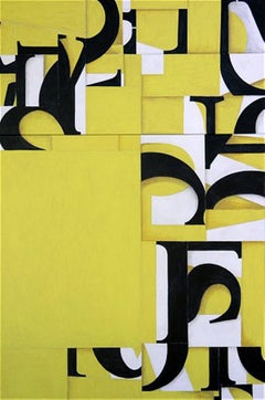 Acrylic Diptych Painting Titled: PDP #289